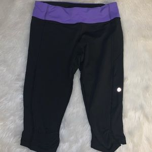 Lululemon Fast and Free Crop Size 8